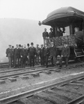 Free Picture of President Theodore Roosevelt and Train