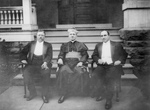 Free Picture of Roosevelt, Rev MJ Hoben, and John Mitchell