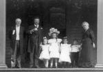 Free Picture of Theodore Roosevelt and Friends on Porch