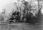 Free Picture of Roosevelt and Horse Jumping