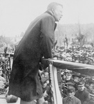Free Picture of Roosevelt Giving Speech at Grand Island