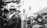 Free Picture of Theodore Roosevelt in Car