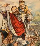 Free Picture of Taft on Roosevelt's Shoulder