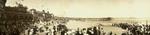 Free Picture of Crowded Santa Cruz Beach