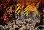 Free Picture of Great Chicago Fire