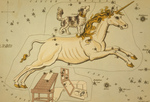 Free Picture of Unicorn and Dog Constellations