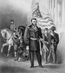 Free Picture of General Ulysses S Grant With Soldiers