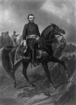 Free Picture of Ulysses S. Grant on Horseback