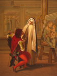 Free Picture of Nun and Painter