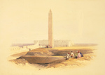 Free Picture of Obelisk at Alexandria, Cleopatra's Needle