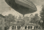 Free Picture of Airship in Paris