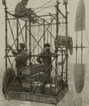 Free Picture of Three Men in an Airship