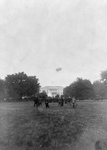 Free Picture of Airship Over the White House