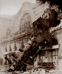 Free Picture of Montparnasse Train Wreck