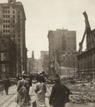Free Picture of California Street After Fire and Earthquake
