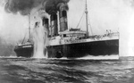 Free Picture of Attack on the RMS Lusitania