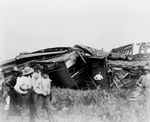 Free Picture of Train Wreck