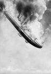 Free Picture of Airship Falling From the Sky