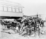 Free Picture of Train Wreckage