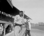 Free Picture of Babe Ruth With Bat