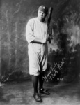 Free Picture of The Great Bambino With Bat