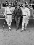 Free Picture of Babe Ruth, Jack Bentley, and Jack Dunn