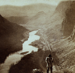 Free Picture of Native American Overlooking Humboldt River