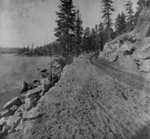 Free Picture of Dirt Road on Lake Tahoe