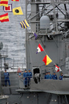 Free Picture of Sailors on USS Ronald Reagan
