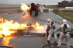 Free Picture of Fire Fighter Training