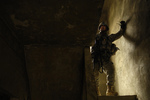 Free Picture of Army Soldier in Stairwell