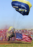 Free Picture of Parachute With American Flag