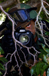 Free Picture of Soldier With a Camera