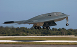 Free Picture of B-2 Bomber Taking Off