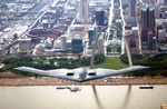 Free Picture of B-2 Bomber Over St Louis