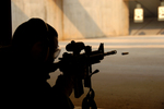 Free Picture of Man in Shooting Range