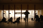 Free Picture of Airmen at a Shooting Range