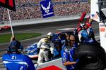 Free Picture of Pit Stop at Las Vegas Motor Speedway