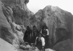Free Picture of Acoma Indians With Pottery