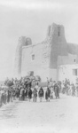 Free Picture of Feast Day at San Estevan del Rey Mission, Acoma Indians