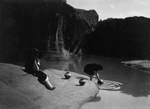 Free Picture of Acoma Indians Fetching Water