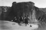 Free Picture of Acoma Indians at a Watering Hole