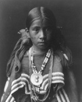 Free Picture of Jicarilla Apache Indian Girl