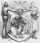 Free Picture of KKK Members and African Americans