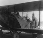 Free Picture of KKK Members With an Airplane
