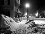 Free Picture of Snowy Night in Woodstock, Vermont