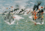 Free Picture of The Battle of Manila Bay
