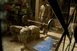 Free Picture of Soldier Lifting Weights