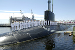 Free Picture of Submarine Commissioning Ceremony