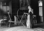 Free Picture of Spinning Wheel at Wadsworth Hall